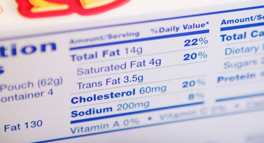 GMA's petition proposes allowing various levels for trans fat uses, with limits ranging from .01 grams of trans fatty acids per 100 grams of product for protein drinks to 3 grams trans fatty acid per 100 grams for shortening. | GETTY