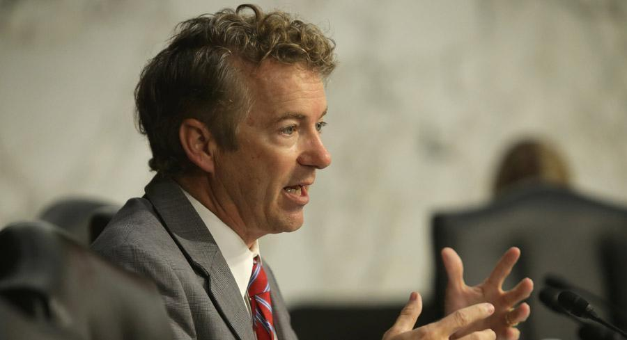 As of 6 p.m., proposed modifications to the bill totaled nearly 60 amendments — including a host of unrelated measures offered by Sen. Rand Paul such as an audit of the Federal Reserve. | GETTY