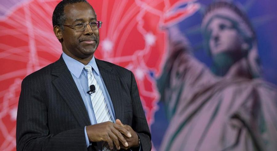 Ben Carson is posting strong national and early-state polling numbers despite having several senior advisers leave his campaign last month. | AP
