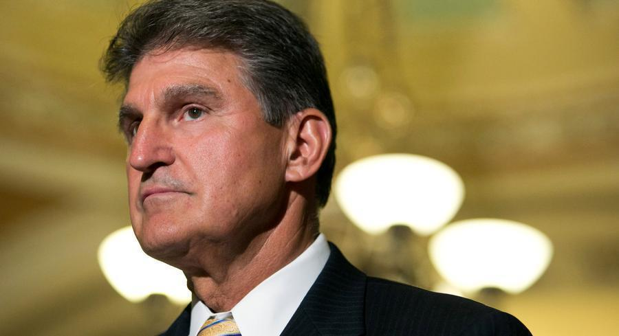 Planned Parenthood has just one facility in the conservative bastion of West Virginia, but Manchin still indicated caution ahead of the defunding vote. Asked if he'd decided, he replied: 'Not yet. It's a tough one.' | GETTY