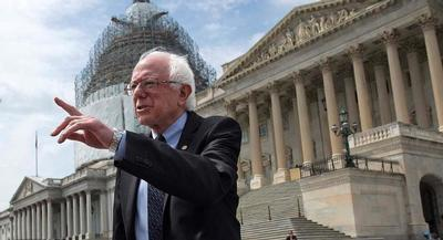 Democratic presidential candidate Bernie Sanders expressed support for Greeks who voted against creditors' calls for austerity measures in exchange for new loans by widely rejecting such demands on Sunday. | AP