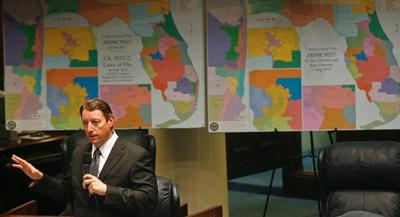 Florida's GOP-controlled Legislature was already forced to redraw the map last summer, after groups linked to Democrats sued under the Fair Districts amendments. | AP