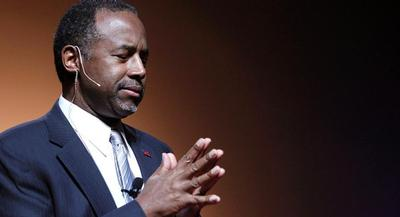 Ben Carson's speaking fees varied widely, from $12,320 to $48,500. | GETTY