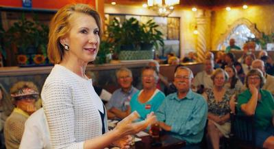 Carly Fiorina's campaign raised $1.4 million in the first fundraising quarter of her presidential campaign. | AP