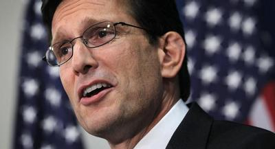 Cantor is to introduce Bush on Thursday evening at a fundraiser in Richmond. | GETTY