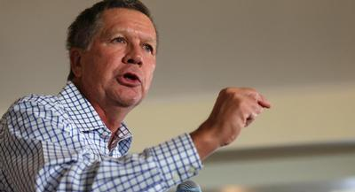 """I think it's important to be in New Hampshire,"" said Kasich, who is currently polling in 10th place and stands to be the last candidate to make the cut for Thursday night's main event. 