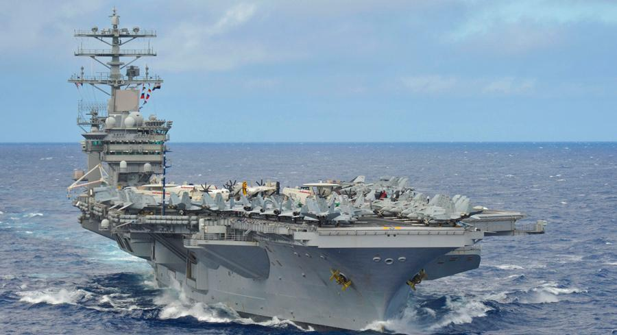 The Pentagon has repeatedly maintained it reserves the right to sail or fly by a series of artificial islands that China is outfitting with military equipment. | AP