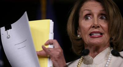 They have marshaled a broad array of support in the caucus, from moderates to liberals in the whip team — all the way up to Pelosi herself. | GETTY