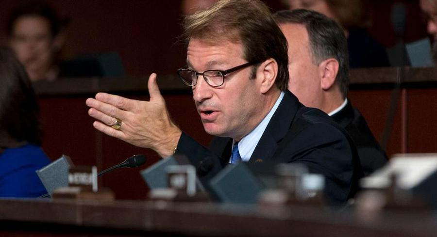 Illinois Republican Rep. Peter Roskam announced Monday that 218 lawmakers have signed onto a resolution disapproving of the nonproliferation deal. | AP