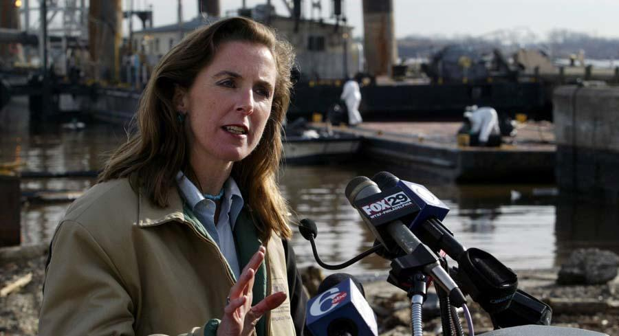 Kathleen McGinty was often mentioned as a potential EPA administrator after Obama was elected. | AP