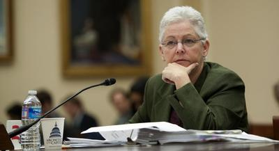 """EPA Administrator Gina McCarthy told lawmakers in February that she is """"very confident"""" that CCS technology is a viable option for new coal plants.   JOHN SHINKLE/POLITICO"""