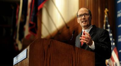 Tom Perez said that might be changed after the Labor Department considers comments from the public in preparing a final rule. | JOHN SHINKLE/POLITICO