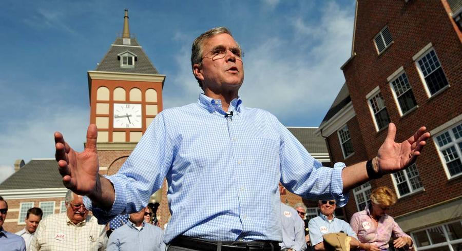 Bush said Sunday that, if elected president, he would not consider tax increases as part of any 'grand bargain' on the budget. | GETTY