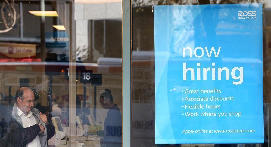 Analysts had predicted the creation of about 230,000 jobs. | GETTY