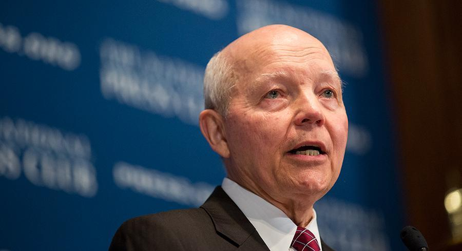 """In a statement later Wednesday, an IRS spokesman said, """"Of course, the IRS will comply with the judge's order."""" 