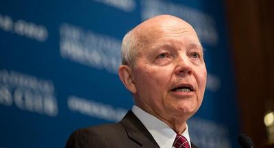"In a statement later Wednesday, an IRS spokesman said, ""Of course, the IRS will comply with the judge's order."" 