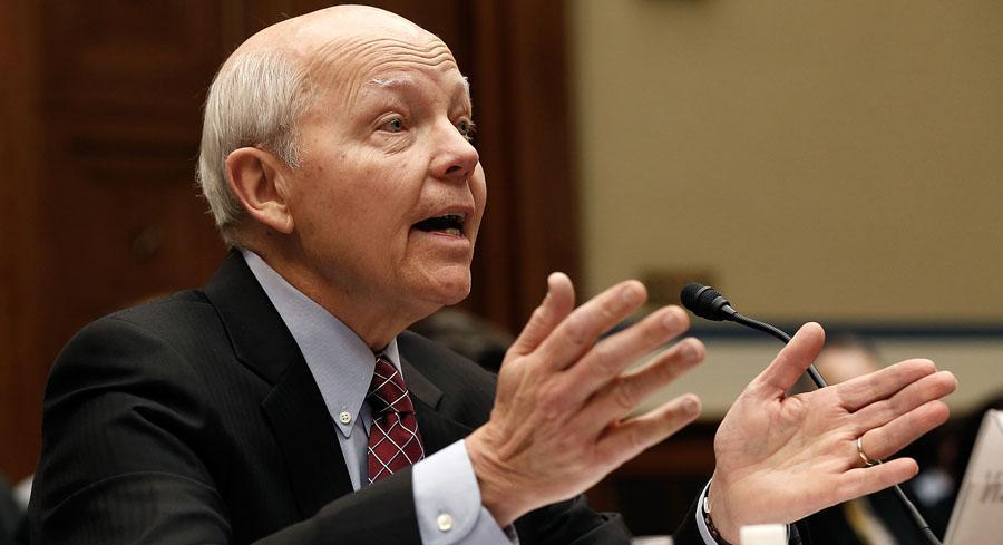 The already-strained relationship between the GOP and the head of the IRS took a more personal turn last month, when House Oversight Republicans danced around accusations that Koskinen lied under oath. | GETTY