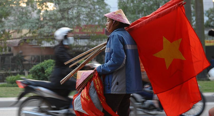 The deal with Vietnam — an agreement in principle, which still has to clear a few technical hurdles — will remove nearly all tariffs on trade. | GETTY