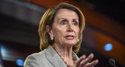 'People will express themselves the way they do. That doesn't mean they're speaking for the party,' Nancy Pelosi said. | JOHN SHINKLE/POLITICO