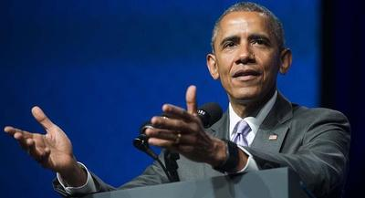 President Barack Obama downplayed the threat that Greece's debt crisis poses to the American economy. | GETTY