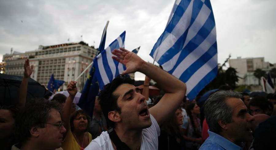 Greece is now firmly on a path to leave the eurozone, and possibly the European Union. | AP