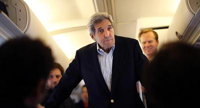 Over his 30-year political career, Kerry has long been knocked for delivering more talk than results. | AP