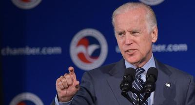 According to columnist Maureen Dowd, Joe Biden's late son Beau wanted his to run against Hillary Clinton in the 2016 presidential election. | GETTY IMAGES