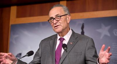 Schumer said that while his party would support the legislation, even short-term extensions hurt homeland security. | AP