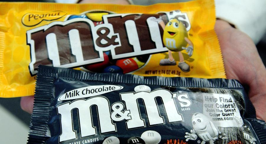 Mars, the maker of M&Ms, MilkyWay and more, is adopting stricter standards for sourcing palm oil. | GETTY