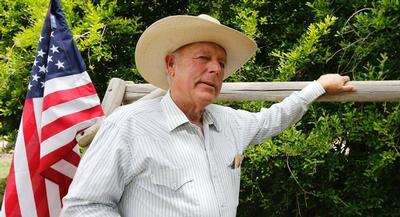 Tensions rose this weekend as the BLM rounded up Cliven Bundy's cattle, citing unpaid grazing fees. | GETTY