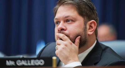 The immigration measure, sponsored by Rep. Ruben Gallego, was included in the NDAA on a 33-30 vote last week in committee. | GETTY