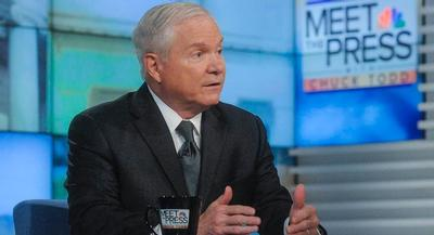 Robert Gates is a former Eagle Scout who has earned the Distinguished Eagle Scout Award and been inducted to the Order of the Arrow. | GETTY