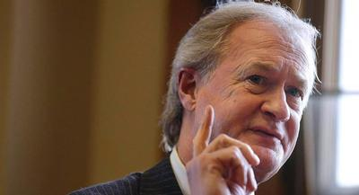 Former Rhode Island Gov. Lincoln Chafee has made Hillary Clinton's support for the invasion of Iraq the chief rationale for his primary challenge to her. | GETTY