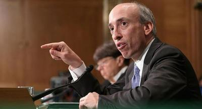 Gary Gensler will serve as the campaign's chief financial officer. | GETTY