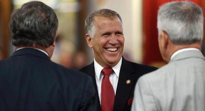 Thom Tillis is considered to be the GOP frontrunner in the North Carolina Senate race. | AP
