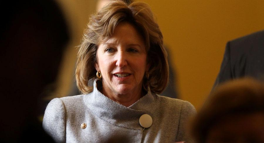 Kay Hagan's campaign has denied any efforts to meddle in the Republican primary. | GETTY