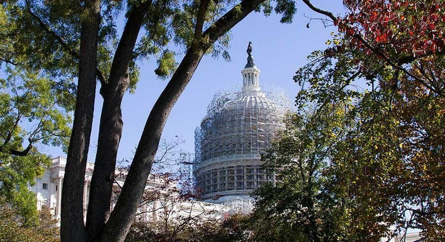 Two cybersecurity bills are expected to be taken up on the House floor as soon as this week. | M. SCOTT MAHASKEY/POLITICO