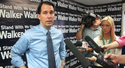 Scott Walker, who leads the early national polls, was the first to tip his hand on Tuesday, saying that he might cede the Sunshine State to Jeb Bush and Marco Rubio. | AP