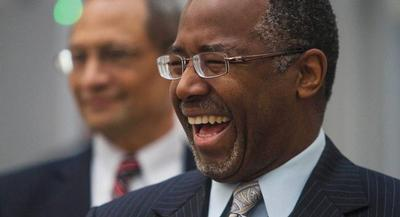 Ben Carson confirmed on Sunday that he will be announcing his presidential bid on Monday. | AP