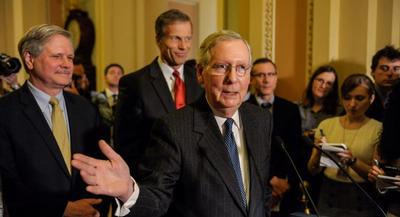 McConnell was careful not to argue that the practice should be required by the government and said he was speaking only for himself and what he would do as a parent today. | JOHN SHINKLE/POLITICO
