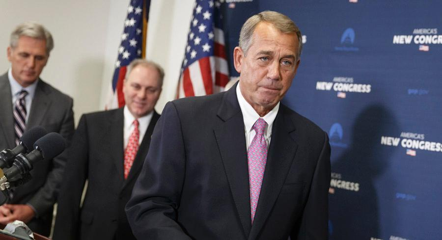 If Boehner goes this route — which is not guaranteed, other options are also being discussed — it doesn't appear that it would meet much opposition in the Senate. | AP