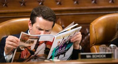 Schock has been under fire after a series of articles by POLITICO and other publications detailed the lawmaker's spending. | AP