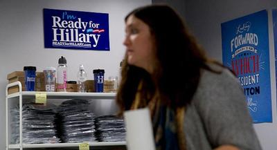 Over the past two years, Ready for Hillary has built a network of 4 million supporters.| GETTY