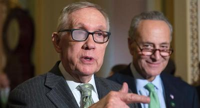 Over the past several years, Schumer, the No. 3 in the caucus, has emerged as the most likely successor to Reid. | AP