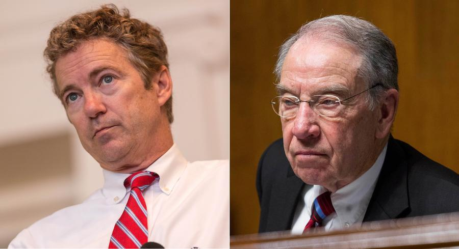 Sens. Rand Paul and Chuck Grassley's bill would allow truck fleets to be converted more easily to run on ethanol blends. | GETTY