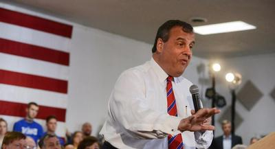"""I would love, for a week, to have a Republican legislature or to be the emperor,"" Christie joked. 