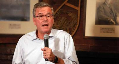 Jeb Bush has faced renewed scrutiny over his role in the prolonged controversy from 2003 to 2005. | AP
