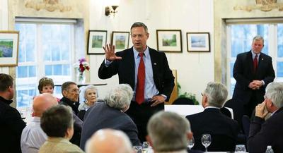 'I believe that we are best as a party when we lead with our principles and not according to the polls,' former Maryland Gov. Martin O'Malley said. | AP