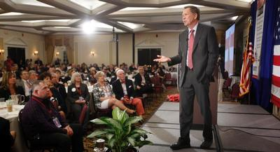 The governor made waves in New Hampshire over the weekend when he told activists to hold off on committing to any candidates until he made up his mind.   AP