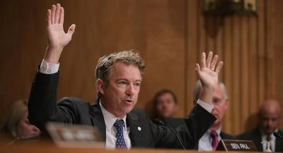 Sen. Rand Paul downplayed any bad feelings between him and his fellow Kentucky senator, Majority Leader Mitch McConnell.   GETTY